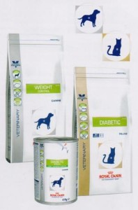 Корм для кошек и собак WEIGHT CONTROL и DIABETIC
